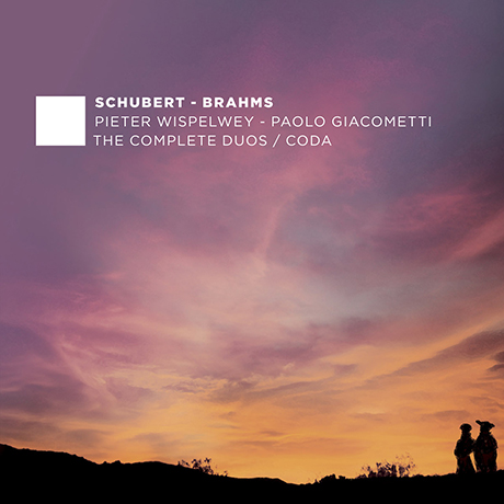 THE COMPLETE DUOS, CODA/ PIETER WISPELWEY, PAOLO GIACOMETTI [슈베르트 & 브람스: 첼로와 피아노를 위한 작품 전곡 5집 - 비스펠베이, 자코메티]