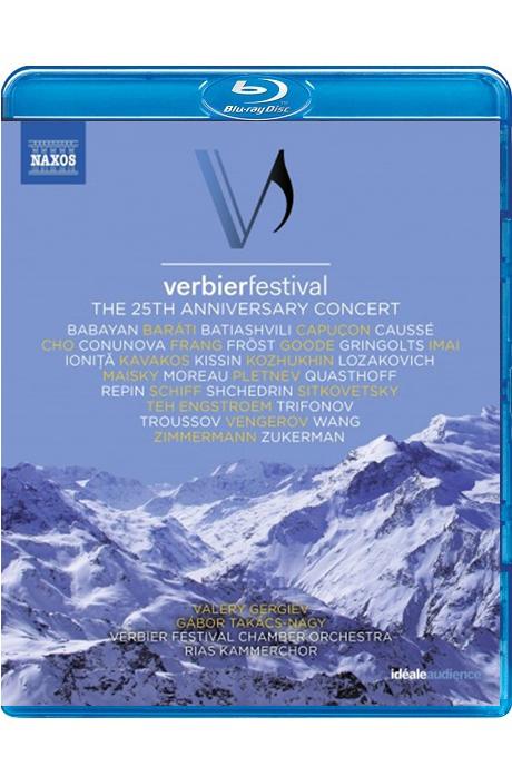 VERBIER FESTIVAL: THE 25TH ANNIVERSARY CONCERT/ GABOR TAKACS-NAGY, VALERY GERGIEV [2018 베르비에 페스티벌 25주년 하이라이트 공연]