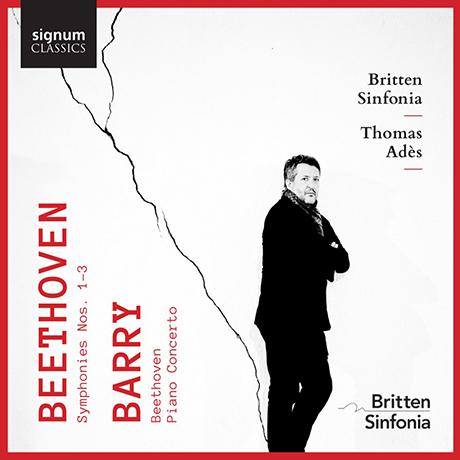 SYMPHONIES NOS.1-3 & PIANO CONCERTO/ NICOLAS HODGES, THOMAS ADES [베토벤: 교향곡 1-3번 & 배리: 베토벤, 피아노 협주곡 - 토마스 아데스]