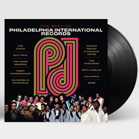THE BEST OF PHILADELPHIA INTERNATIONAL RECORDS [LP]