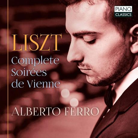 COMPLETE SOIREES DE VIENNE/ ALBERTO FERRO [리스트: 빈의 저녁들 - 알베르토 페로]