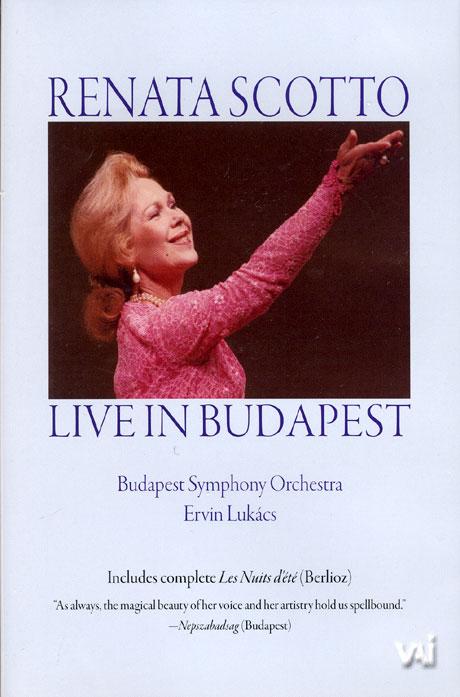 레나타 스코토: 라이브 인 부다페스트 1991 [RENATA SCOTTO LIVE IN BUDAPEST]