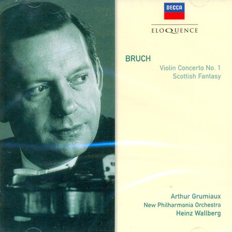 VIOLIN CONCERTO NO.1/ ARTHUR GRUMIAUX, HEINZ WALLBERG
