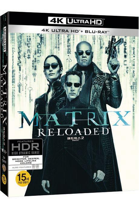 매트릭스 2: 리로디드 [4K UHD+BD] [오링케이스 한정판] [THE MATRIX RELOADED]