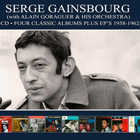 FOUR CLASSIC ALBUMS + EP`S 1958-1962