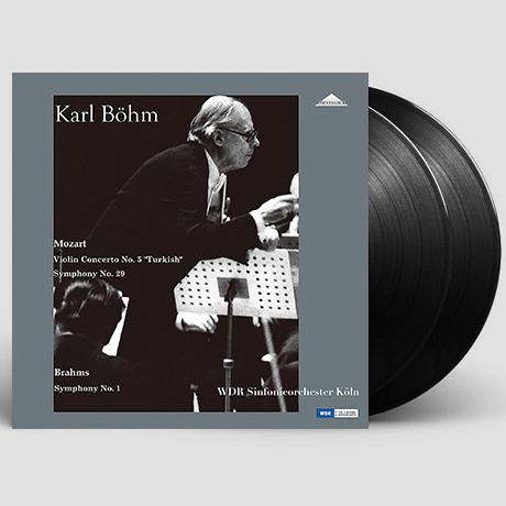 VIOLIN CONCERTO NO.5 TURKISH, SYMPHONY NO.29 & SYMPHONY NO.1/ KARL BOHM [모차르트: 바이올린협주곡 5번, 교향곡 29번 & 브람스: 교향곡 1번 - 칼 뵘] [180G LP]
