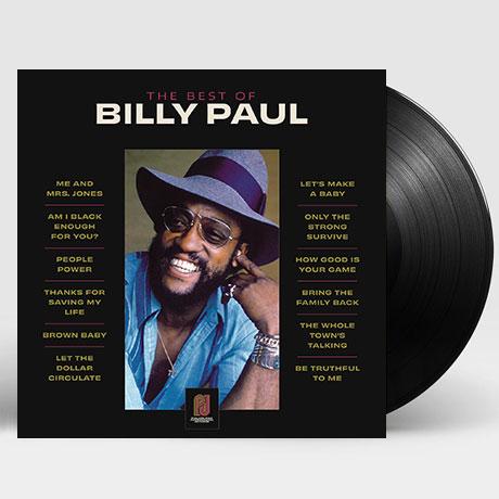 THE BEST OF BILLY PAUL [LP]