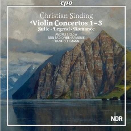 VIOLIN CONCERTOS 1-3/ ANDREJ BIELOW, FRANK BEERMANN