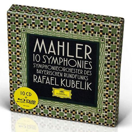 10 SYMPHONIES/ RAFAEL KUBELIK [10CD+BDA] [말러: 교향곡 전곡 - 라파엘 쿠벨릭]