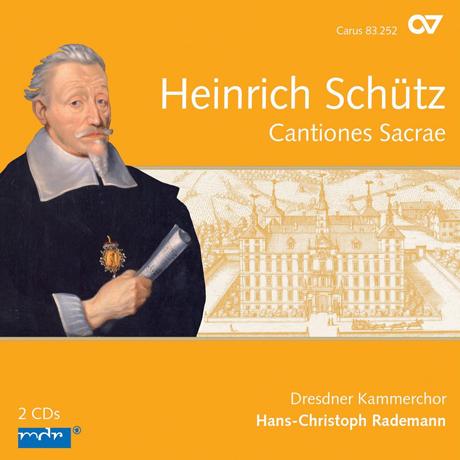 CANTIONES SACRAE/ HANS-CHRISTOPH RADEMANN [COMPLETE RECORDINGS 5] [쉬츠: 칸티오네 사크라에]