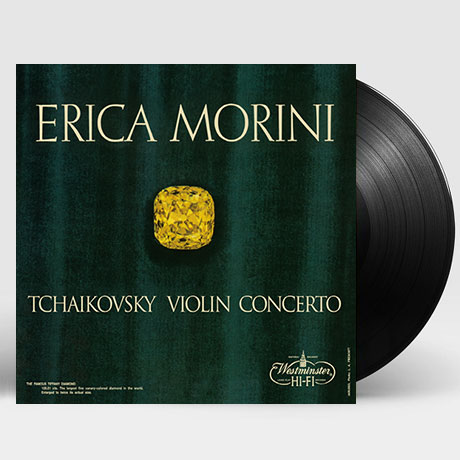 VIOLIN CONCERTO/ ERICA MORINI [차이코프스키: 바이올린 협주곡 - 에리카 모리니] [한정반] [180G LP]