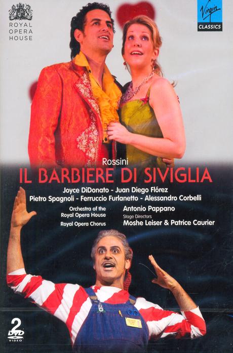 IL BARBIERE DI SIVIGLIA/ JUAN DIEGO FLOREZ, ANTONIO PAPPANO [로시니: 세빌리아의 이발사]
