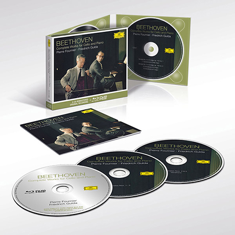 COMPLETE WORKS FOR CELLO AND PIANO/ PIERRE FOURNIER, FRIEDRICH GULDA [2CD+BDA] [베토벤: 첼로 소나타 - 푸르니에, 굴다]