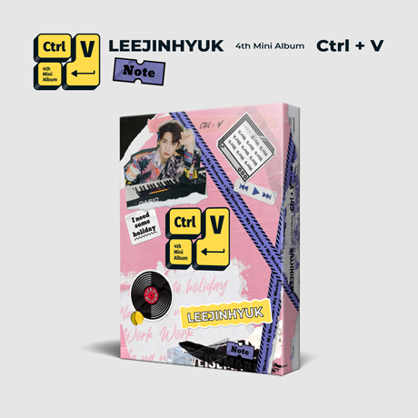CTRL+V [미니 4집] [NOTE VER]