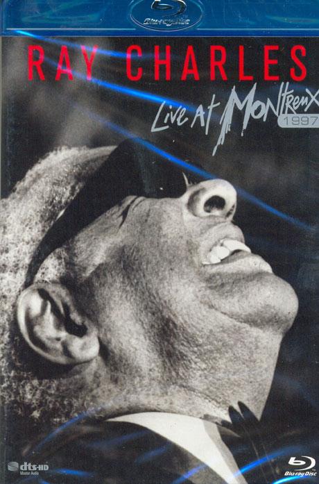 LIVE AT MONTREUX 1997 [레이 찰스 몽트뢰 라이브 1997] [블루레이 전용플레이어 사용]
