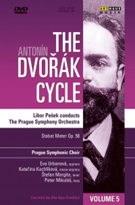 드보르작 사이클 5집 [THE ANTONIN DVORAK CYCLE VOL.5/ LIBOR PESEK]