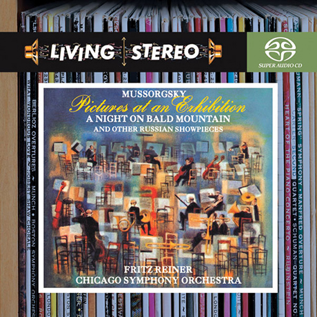 PICTURES AT AN EXHIBITION, A NIGHT ON BALD MOUNTAIN/ FRITZ REINER [SACD HYBRID] [LIVING STEREO] [무소르그스키: 전람회의 그림, 민둥산의 하룻밤 외 - 라이너]