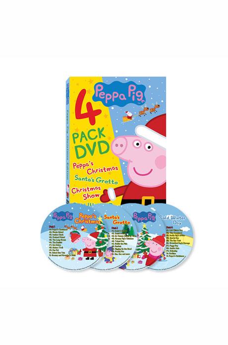페파피그 크리스마스 에디션 4종세트 [PEPPA PIG]