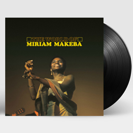 THE WORLD OF MIRIAM MAKEBA [LP]