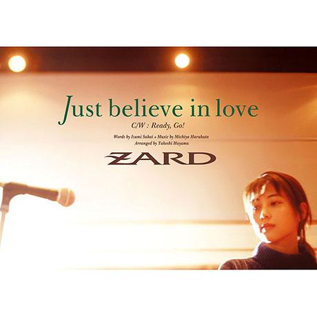 JUST BELIEVE IN LOVE [MAXI SINGLE]