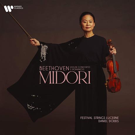 VIOLIN CONCERTO, 2 ROMANCES/ MIDORI, DANIEL DODDS [베토벤: 바이올린 협주곡, 2개의 로망스 - 미도리]