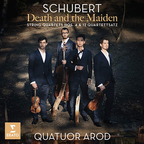 DEATH AND THE MAIDEN: STRING QUARTETS NOS.4 & 12 QUARTETTSATZ/ QUATUOR AROD [슈베르트: 죽음과 소녀, 사중주 4, 12번 - 아로드 사중주단]