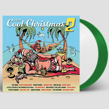 A VERY COOL CHRISTMAS 2 [WHITE & LIGHT GREEN] [180G LP] [한정반]