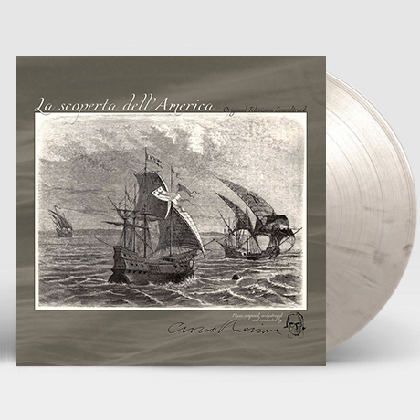 ALLA SCOPERTA DELL`AMERICA [알라 스코페르타 델아메리카] [180G GREY MARBLED LP] [한정반]