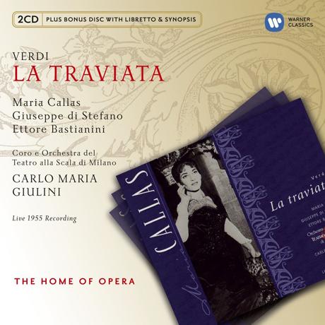 LA TRAVIATA/ MARIA CALLAS, CARLO MARIA GIULINI [2CD+BONUS DISC] [베르디: 라 트라비아타]
