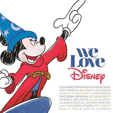 WE LOVE DISNEY LATINO [CD+DVD] [DELUXE]