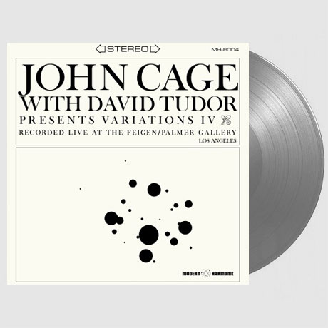 VARIATIONS IV: WITHE DAVID TUDOR [CLEAR GREY LP] [한정반]