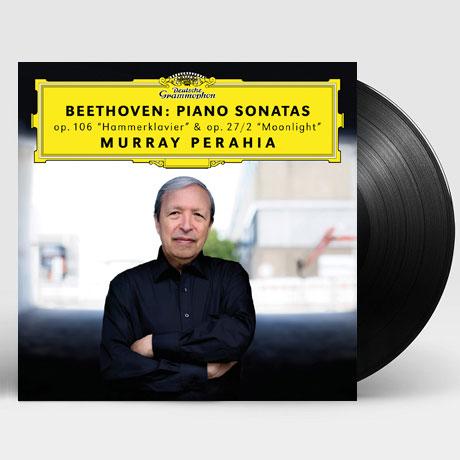 BEETHOVEN: PIANO SONATAS [LP] [머레이 페라이어: 베토벤 피아노 소나타 - 함머클라비어, 월광]