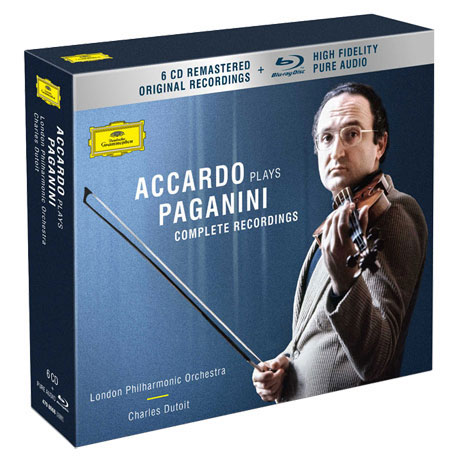COMPLETE RECORDINGS: ACCARDO PLAYS/ CHARLES DUTOIT [6CD+BDA] [파가니니 녹음 전집: 아카르도, 뒤트와]