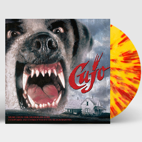 CUJO [PINTO YELLOW WITH BLOOD RED SPLATTER] [LP] [쿠조] [한정반]