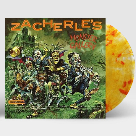 ZACHERLE`S MONSTER GALLERY [CLEAR W/PUMPKIN SPLATTER] [LP] [한정반]