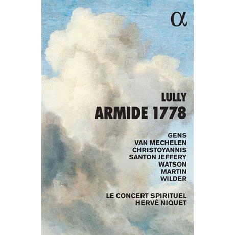 ARMIDE 1778/ HERVE NIQUET [2CD+BOOK] [륄리: 아르미드(1778년 버전) - 에르베 니케]