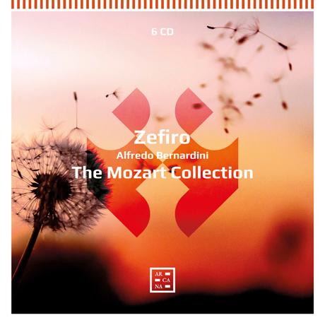 THE MOZART COLLECTION/ ALFREDO BERNARDINI [제피로 앙상블: 모차르트 컬렉션]