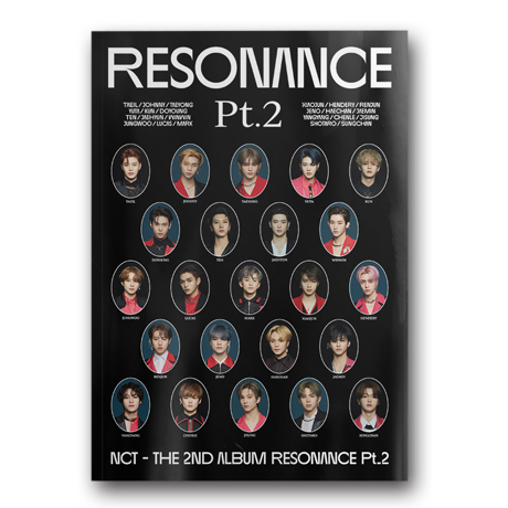 THE 2ND ALBUM RESONANCE PT.2 [ARRIVAL VER]