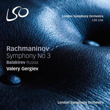 SYMPHONY NO.3 & RUSSIA/ VALERY GERGIEV [SACD HYBRID] [라흐마니노프: 교향곡 3번 & 발라키예프: 교향시 '러시아']