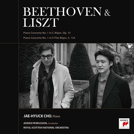 BEETHOVEN & LISZT PIANO CONCERTOS/ ADRIEN PERRUCHON [베토벤 & 리스트: 피아노 협주곡 - 아드리앙 페뤼송]