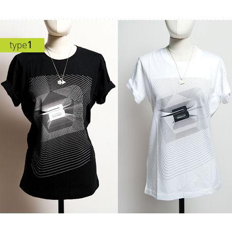 BR 티셔츠: TYPE 1 흰색 M [빅뱅 2012 STILL ALIVE]