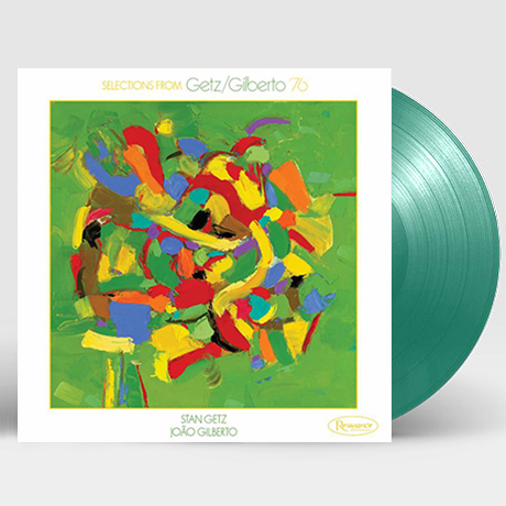 """SELECTIONS FROM GETZ/GILBERTO 76 [10"""" TRANSLUCENT GREEN LP] [한정반]"""