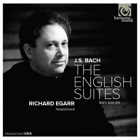 THE ENGLISH SUITES/ RICHARD EGARR