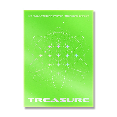 1ST ALBUM [THE FIRST STEP: TREASURE EFFECT] [GREEN VER]