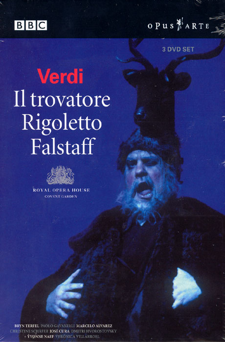 IL TROVATORE, RIGOLETTO, FALSTAFF [베르디 오페라 박스: 팔스타프+리골레토+일트로바토레]