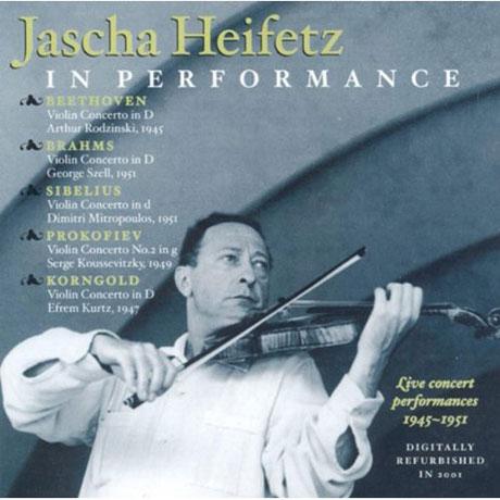 HEIFETZ IN PERFORMANCE: 1945-1951