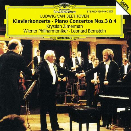 PIANO CONCERTOS NOS.3 & 4/ KRYSTIAN ZIMERMAN, LEONARD BERNSTEIN [베토벤: 피아노 협주곡 3, 4번 - 지메르만, 번스타인]