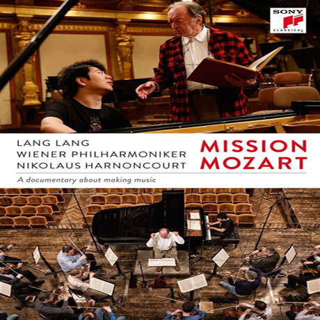 MISSION MOZART: A DOCUMENTARY ABOUT MAKING MUSIC/ LANG LANG, NIKOLAUS HARNONCOURT [미션 모차르트: 랑랑, 니콜라우스 아르농쿠르]
