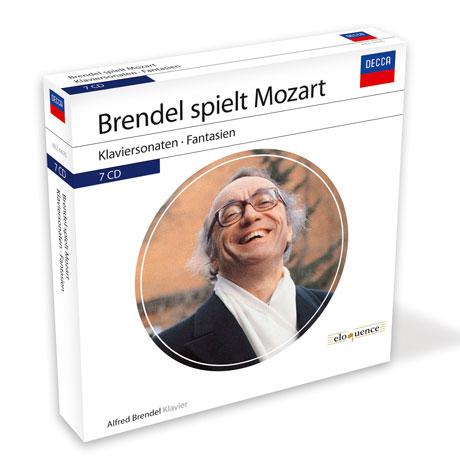 BRENDEL SPIELT MOZART: PIANO SONATAS [알프레드 브렌델: 데카, 필립스 모차르트 소나타 녹음 전집]