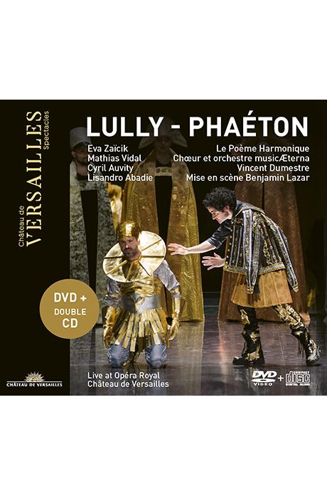 PHAETON/ INCENT DUMESTRE [DVD+2CD] 륄리: 오페라 <파에통>| 뱅상 뒤메스트르]